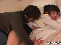 Shy japanese teen fingered and vibrated tubes at japanese.sgirls.net