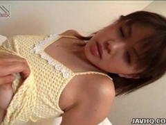 Sensual fondling of cute japanese tits videos