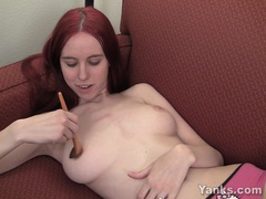 Busty rose pleasing her pussy videos