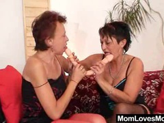 Hairy gramma and kinky cougar crazy dildo fuck videos