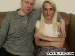 Amateur girlfriend sucks and fucks with double facial movies at find-best-videos.com