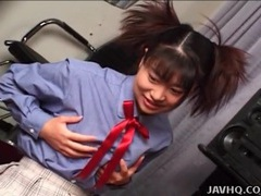 Teen japanese girl in skirt and panties masturbates videos