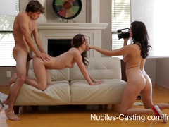 Nubiles casting - ca hottie wants to be a pornstar videos