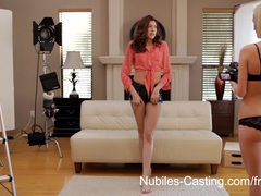 Nubiles casting - will gagging on cock get her the part? movies at relaxxx.net