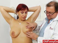 Chubby redhead gets a gyno movies at find-best-tits.com