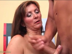 Milf pounded from behind gets a hot facial videos