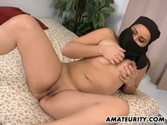 Arab girlfriend sucks and fucks with facial movies at lingerie-mania.com