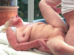 Bald old vagina fucked by his young meat movies at lingerie-mania.com