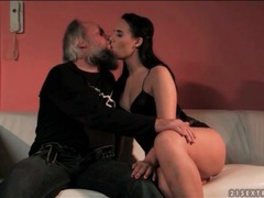 Young beauty sensually sucks grandpa cock videos