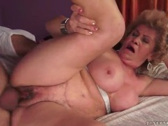 Vigorous granny blowjob and good hardcore fuck videos