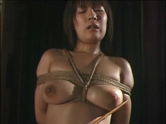 Wet japanese girl tied up by rope videos