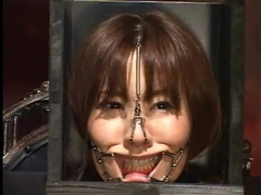 Japanese head in a box in kinky bdsm video tubes at japanese.sgirls.net