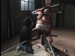 Rough bdsm porn with japanese girl ends in cumshot videos