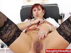 Wifey redhead fingering in uniforms movies at sgirls.net