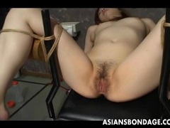 Japanese slave slut gets her wet pussy teased videos
