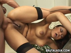 Annie cruz has her ass stretched with toys. videos