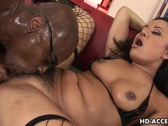 Asian slut annie haze enjoys interracial anal sex videos