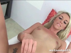 Blonde fucks butt and pussy with dildo movies at relaxxx.net