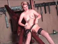 Kinky mature beauty flogged on her ass videos