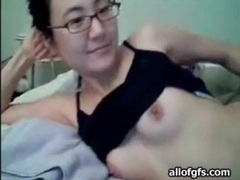 Slender asian webcam girl with a nice bush videos