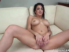 Long dick fucks wet cunt of tattooed babe movies at kilosex.com