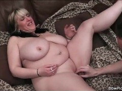 Fat pussy fingered and fucked in lusty porn clip movies at kilosex.com