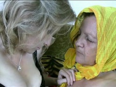 Old sluts with hairy pussies masturbate movies at lingerie-mania.com