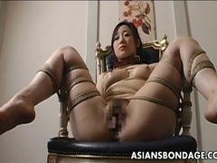 Extreme bondage and dildo fuck for an asian babe tubes at thai.sgirls.net