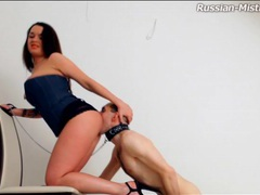 Licking mistress ass and taking her piss movies at sgirls.net