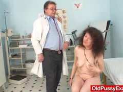 Unshaven pussy extreme karla visits a doc videos