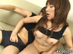 Japanese babe arisa kumada sucks and fucks uncensored videos