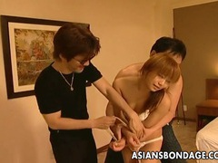 Hot asian bondage masturbation scene tubes at sgirls.net