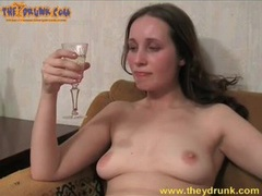 Champagne sipping girl masturbates her pussy movies at kilotop.com