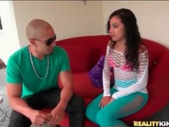 Latina nadia mills wears skintight pants videos