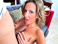 Stunning milf smothers cock with tits movies