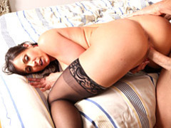 Milf with luscious butt ravaged deep movies at lingerie-mania.com