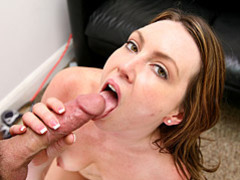 Horny milf diserae getting sticky facial videos