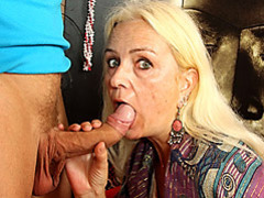 Slender mature sucks his dick movies at find-best-videos.com