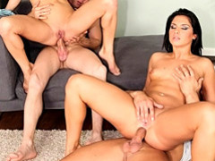 Anal cock riding foursome videos