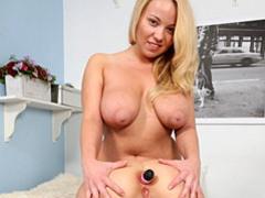 Curvy lesbians anal dildo sex scene movies at sgirls.net