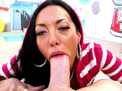 Big cock blowjob outdoors tubes