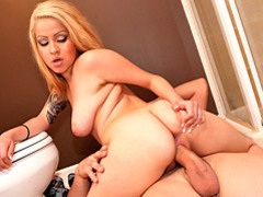 Bathroom floor fuck with latina movies at sgirls.net