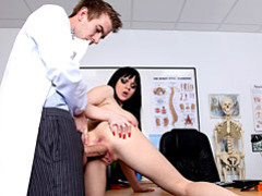 Clothed doctor fucks patient movies at sgirls.net