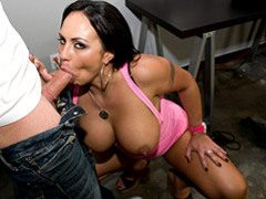 Curvy pornstar sucks a cock movies at sgirls.net