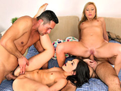 Hot anal use in foursome videos