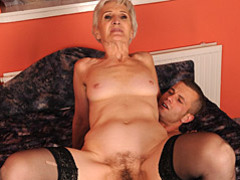 Old lady loves young cock movies at sgirls.net