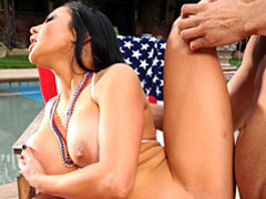 Spirited pornstar fucked outdoors movies at kilotop.com