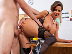 Office slut in pearls fucked movies at kilotop.com