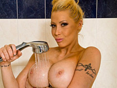 Join milf in the shower movies
