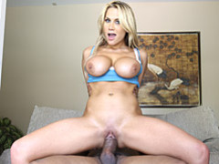 Massive dick stretches blonde videos